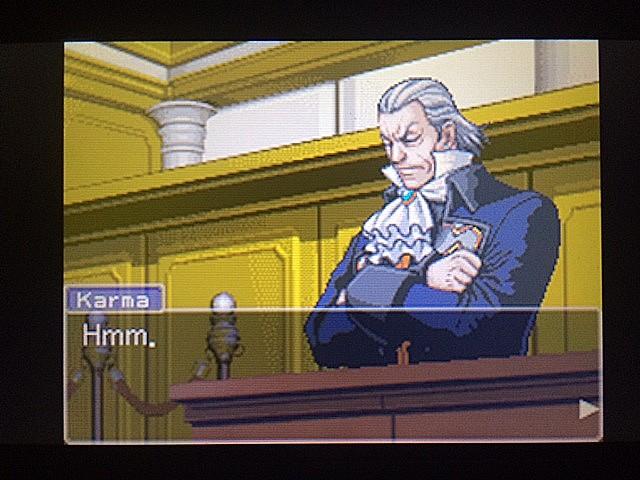逆転裁判 北米版 ガムシュー刑事の事件概要説明10