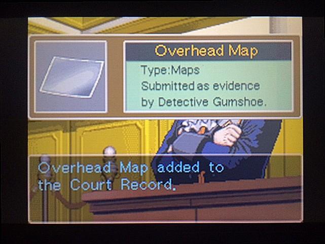 逆転裁判 北米版 ガムシュー刑事の事件概要説明11