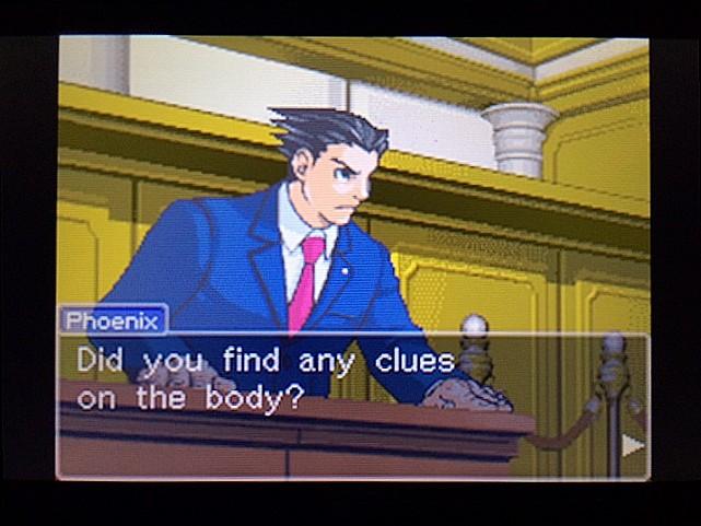 逆転裁判 北米版 エッジワース逮捕の証拠品3