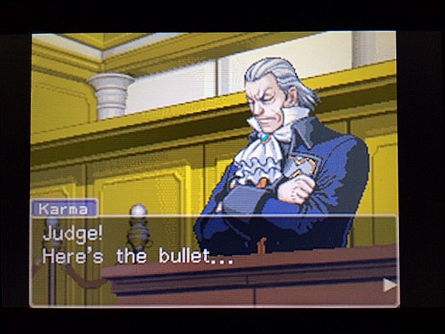 逆転裁判 北米版 エッジワース逮捕の証拠品6