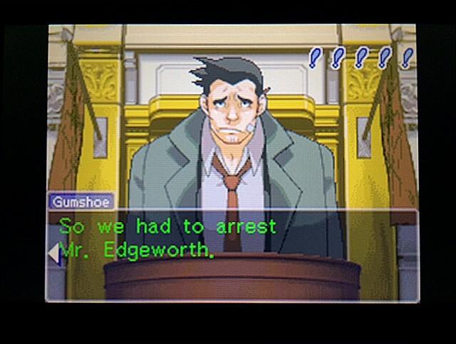 逆転裁判 北米版 エッジワース逮捕の証拠品10