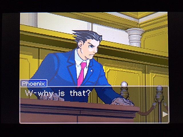逆転裁判 北米版 エッジワース逮捕の証拠品11
