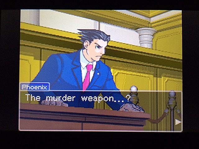 逆転裁判 北米版 エッジワース逮捕の証拠品13