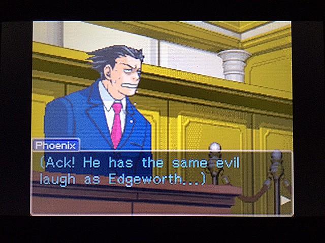 逆転裁判 北米版 エッジワース逮捕の証拠品21