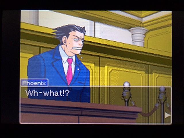 逆転裁判 北米版 エッジワース逮捕の証拠品24