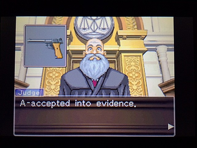 逆転裁判 北米版 エッジワース逮捕の証拠品28