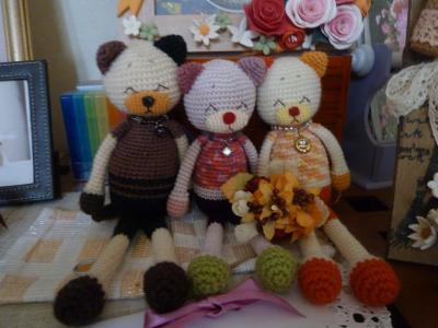 編みねこハーブ