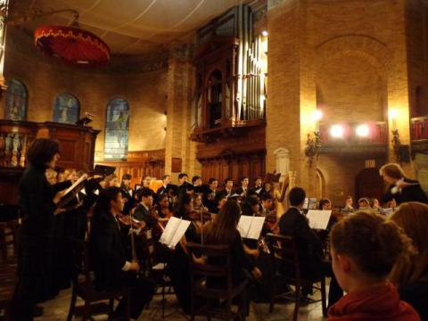 Winter Concert Columbia U the Bach Society