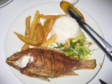菊千代日記-白身魚のフライ