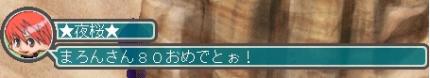80レベ☆夜桜さん