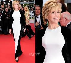 Jane Fonda in Stella McCartney