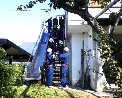 非常階段からの救出訓練(24.10.21)