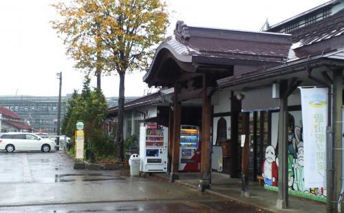 JR飯山線飯山駅(24.10.23)