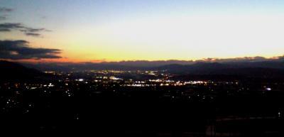 善光寺平の夜景(24.10.31)