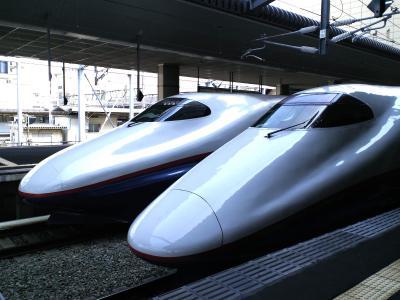 長野駅の新幹線車両(24.11.5)