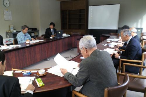 小谷村で研修(24.11.7)