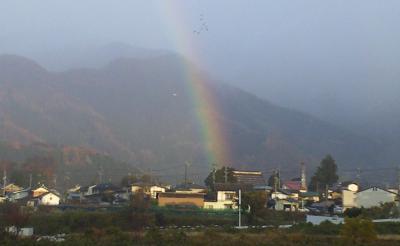 本郷に虹が・・・(24.11.18)