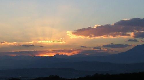 19日の落陽(24.11.20)