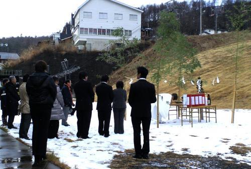 雪乞いと安全祈願祭(24.12.8)