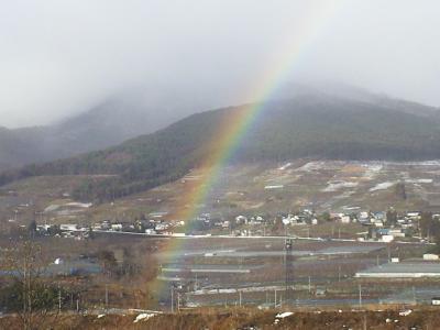 宇木の里に架かる虹(24.12.16)