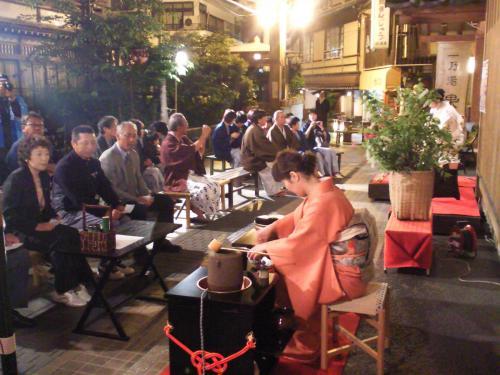 渋温泉朧月夜の茶会(24.5.26)
