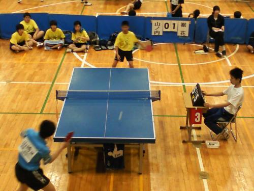 中体連北信卓球大会団体戦(24.6.24)