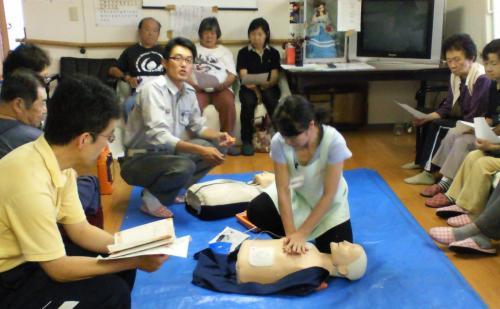 救命救急訓練(24.6.29)