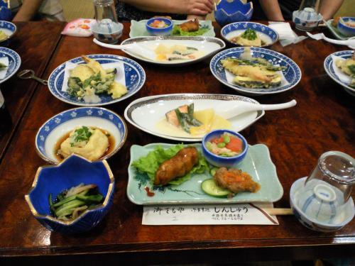 暑気払い しんしゅうさんのお料理(24.7.13)