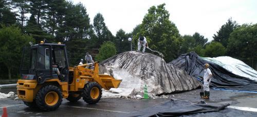 雪山を崩す(24.7.25)