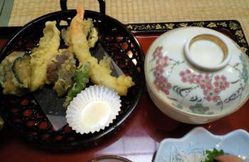 天ぷらと蒸し物も(24.9.1)