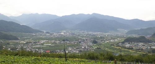 雨上がりの山ノ内町(24.9.3)