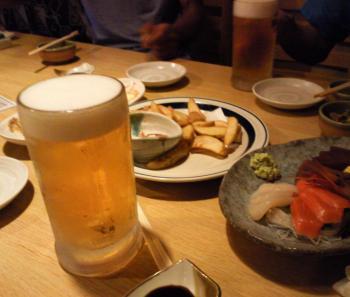地元に帰って生ビール(24.9.17)