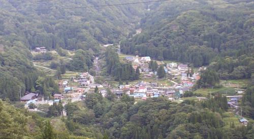 小赤沢集落(24.10.8)
