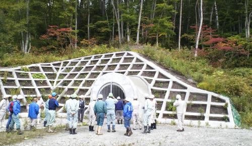 集水トンネル(24.10.10)