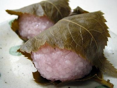 道明寺 桜餅