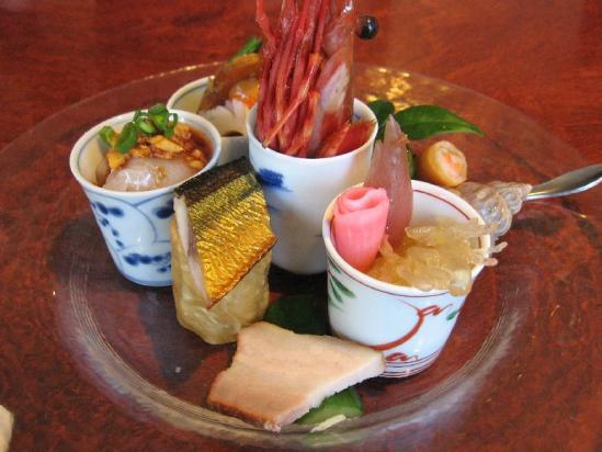 平和台 遊菜+前菜