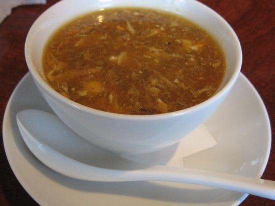 平和台 遊菜+上海蟹とフカヒレースープ