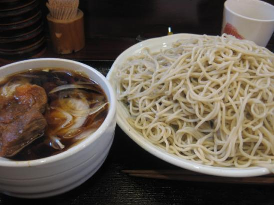 堀留屋 NO[1].5+肉つけそば 多目+(1)