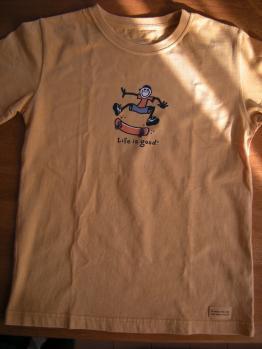 モンベルTシャツ1