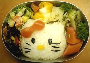 キティちゃん弁当2