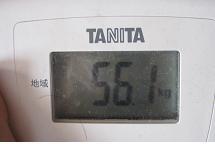 56.1キロ