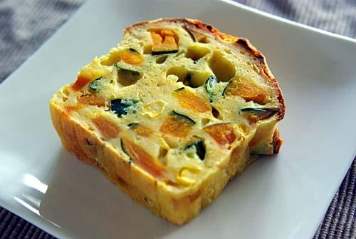 カボチャとチーズのケーク・サレ カット