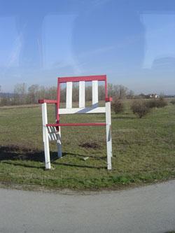 オーストリア~ビッグ椅子