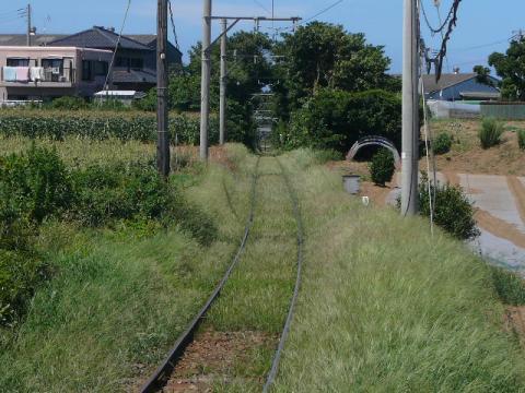 銚子電鉄の線路