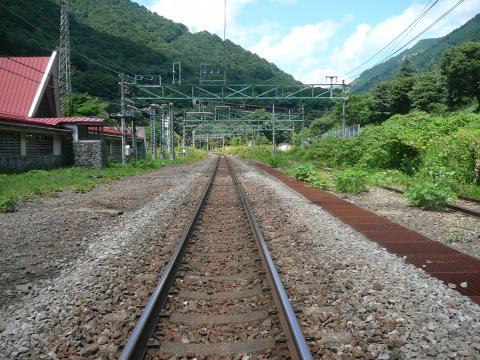 土合駅上りホーム2