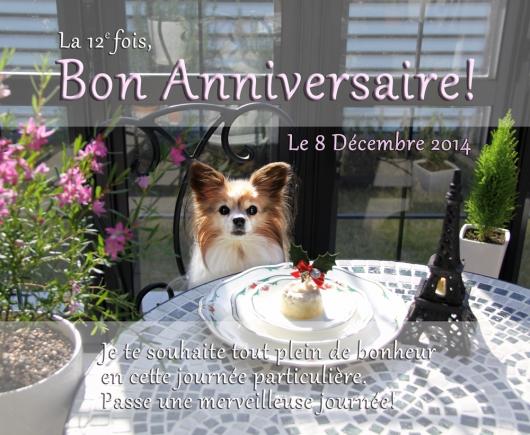 Bon Anniversaire!2014