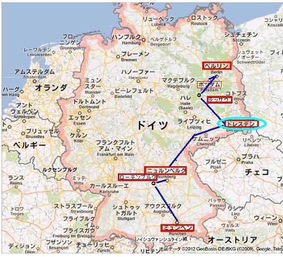 ドイツ全地図d