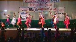 インディアメラ チア・ボリウッドダンス