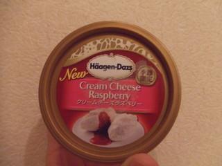 ハーゲンダッツクリームチーズラズベリー