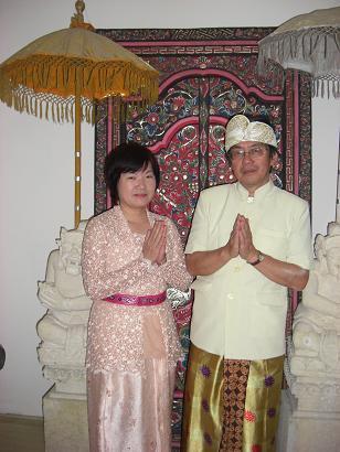 バリ・正式民族衣装